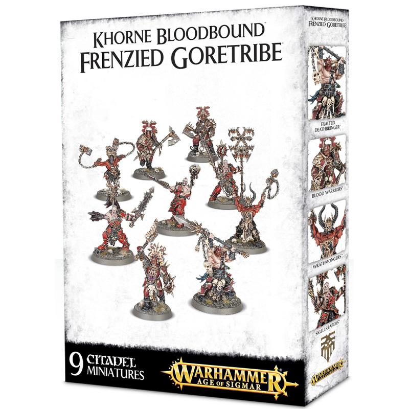 Warhammer AOS Khorne Bloodbound Frenzied Goretribe by Games Workshop
