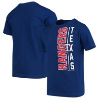 Youth Royal Texas Rangers Side T-Shirt