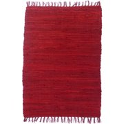 Artim Home Textile Country Barn Red Area Rug