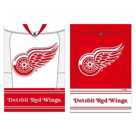 Detroit Red Wings Double Sided Jersey Suede Garden Flag, 12.5 x 18 inches, Cheer on the Chicago Blackhawks with this double-sided flag featuring your team's home.., By Team Sports America from (Best Cheer Teams In America)