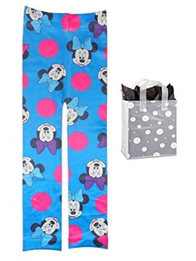 Disney Minnie Mouse Little Girls Leggings & Bag Multi-Pack- Size: S/M 4-7