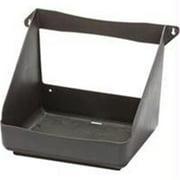 LITTLE GIANT PLASTIC OPEN NESTING BOX BLACK