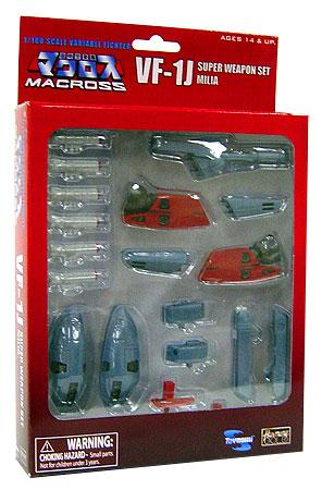 Macross Robotech VF-1 Super Weapon Armor Set Movie Edition NEW in box