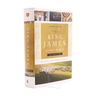 The King James Study Bible, Hardcover, Full-Color Edition (Hardcover)(Large Print)