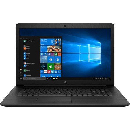 HP (17-BY1053DX) 17.3 Laptop - Core i5-8265U - 8GB Memory - 256GB Solid State Drive - Windows 10 Home in S Mode - Jet Black/Maglia