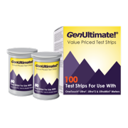 GenUltimate! Test Strips 2box (200 ct) for your OneTouch Ultra Meters