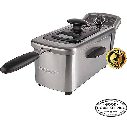 FARBERWARE 2.5L Single Deep Fryer, Stainless Steel