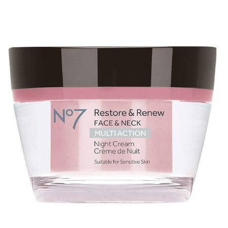 No7 Restore & Renew Multi Action Night Crea 50 ml