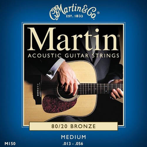 Martin Acoustic Guitar Strings Bronze Medium Gauge
