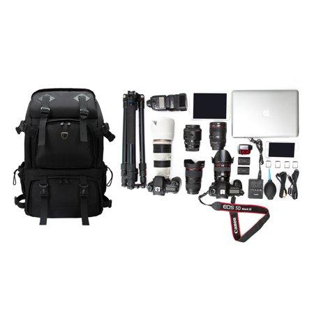 cd8c79cb65b BAGSMART Anti-theft Professional Gear Backpack for SLR/DSLR Cameras ...