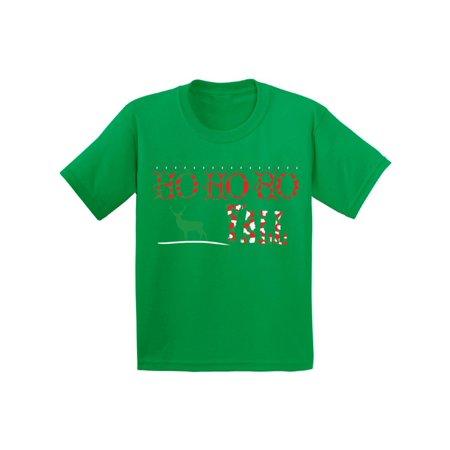 Boys Christmas Suits (Awkward Styles Ho Ho Ho Yall Christmas Shirts for Kids Xmas Reindeer Christmas Shirts for Boys Christmas Shirts for Girls Holiday T-Shirt Youth Christmas Tee Funny Kid's Christmas Holiday)