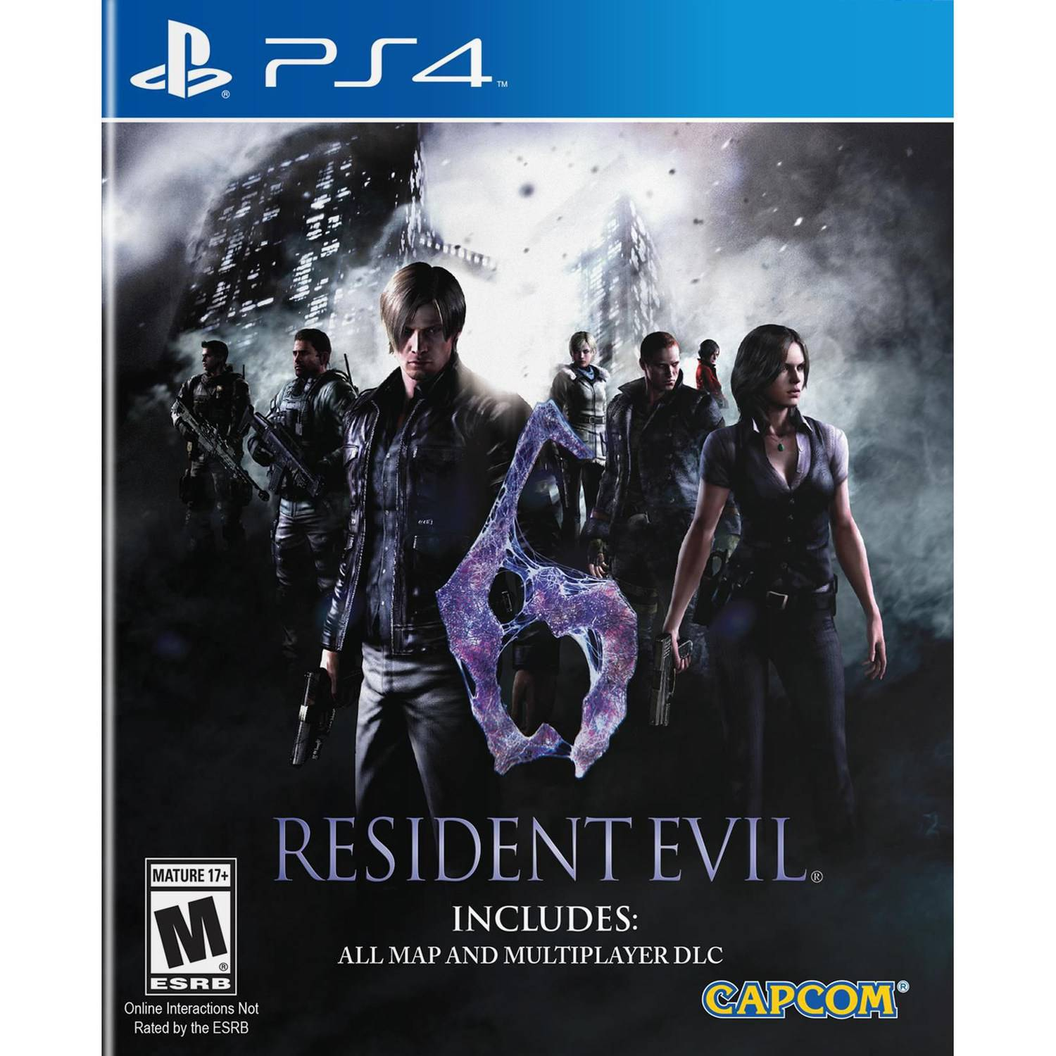 Resident Evil 6 HD for PlayStation 4 by Capcom CO., LTD