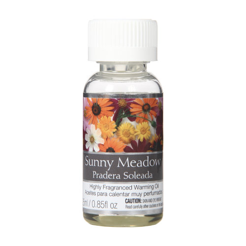 Elegant Expressions by Hosley 25ml Warming Oil, Sunny Meadow