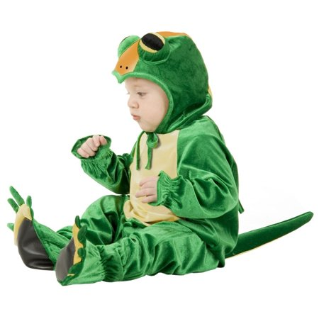 Infant Little Gecko Costume - Geico Gecko Costume