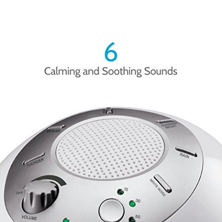White Noise Sound Machine Portable Sleep Therapy For