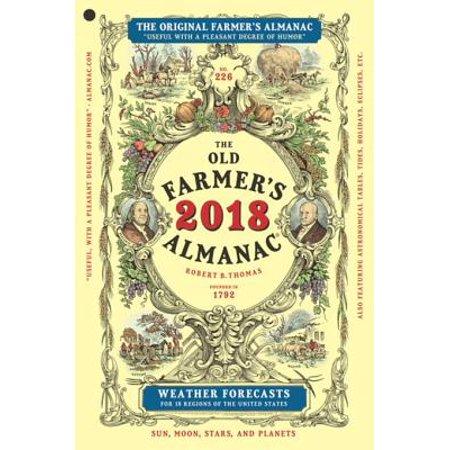 The Old Farmer's Almanac 2018 - eBook