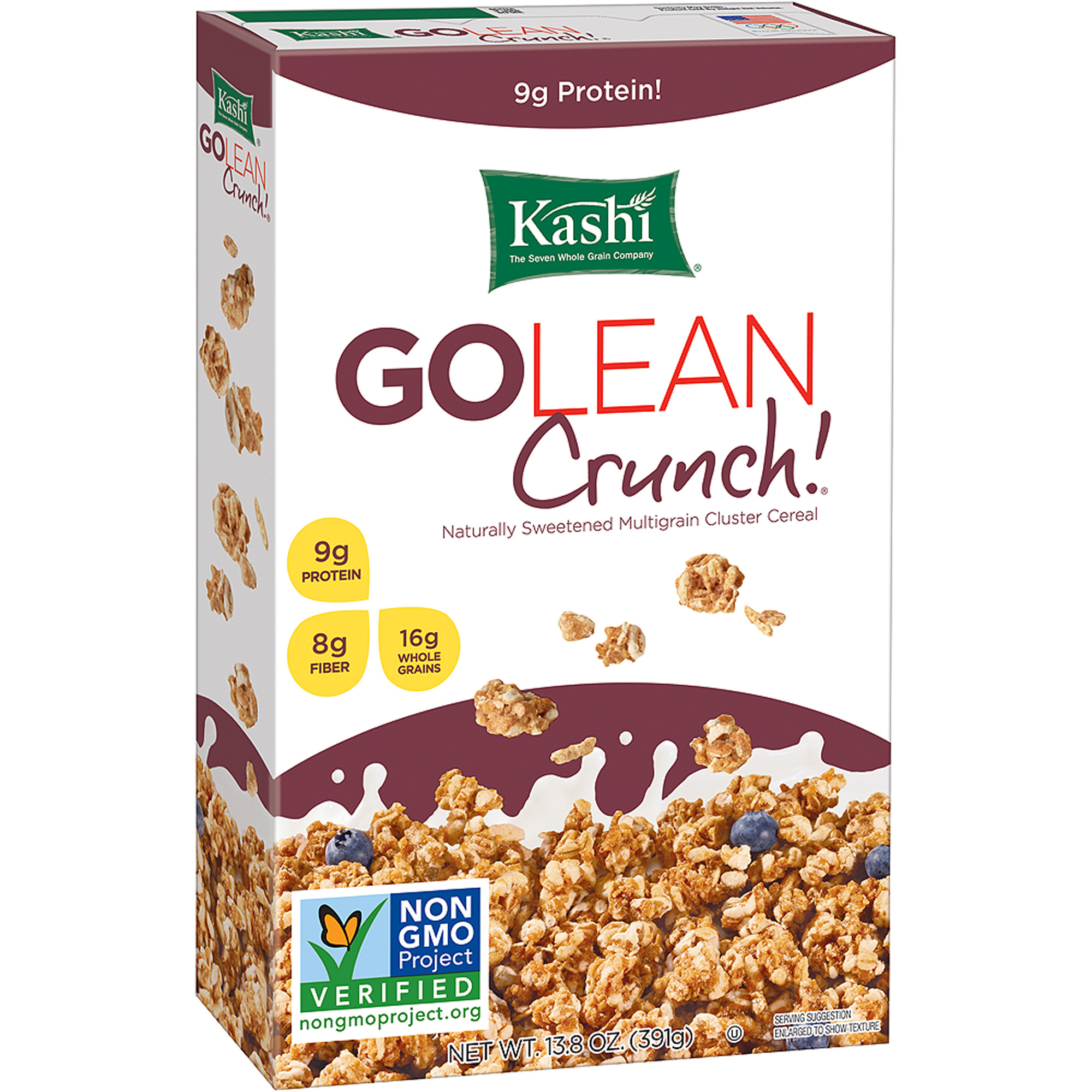 Kashi GoLean Crunch!  Cold Cereal,  box  of 13.8 oz