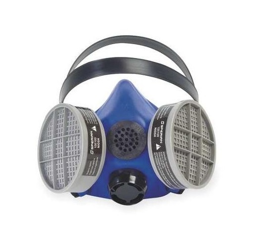 Survivair Medium Blue SURVIVAIR 2000 Half Mask S-Series Facepiece