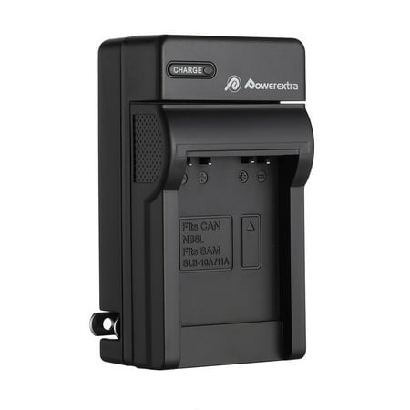 Powerextra NB-6L Battery Charger For Canon PowerShot SD1200 IS SD1300 IS SD3500 IS SX500 IS Digital Camera (Canon Charger Powershot)