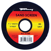 Forney 71725 Sand Screen 80 Grit 9ft