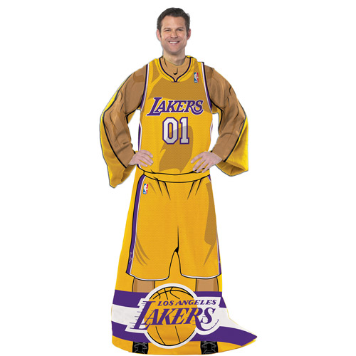 "NBA Player 48"" x 71"" Comfy Throw, Lakers"