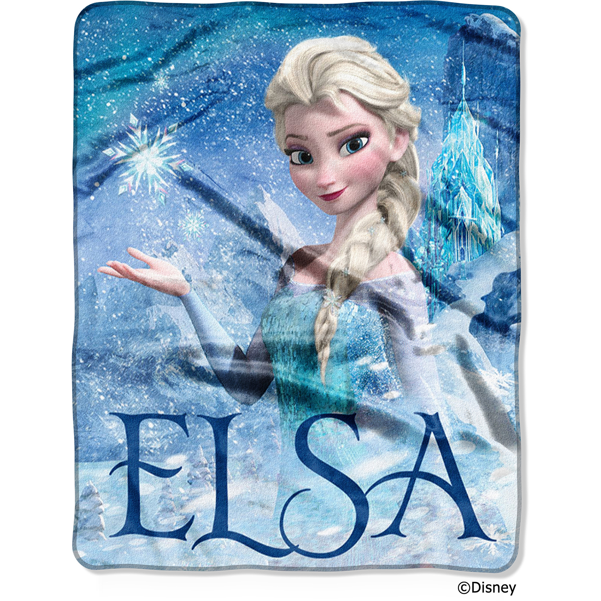 "Disney Frozen Elsa Palace 40"" x 50"" Silk-Touch Throw"