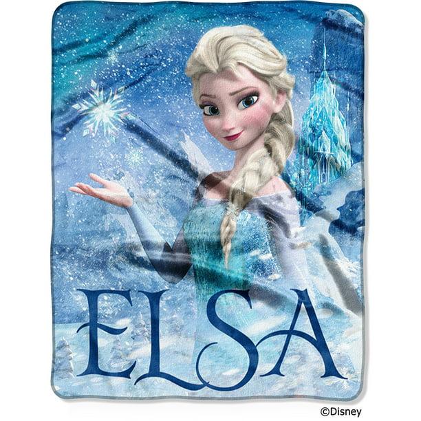 Kids Warehouse Frozen 2 Elsa Silk Touch Throw Blanket