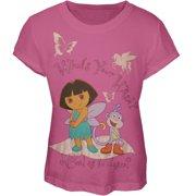 Dora the Explorer - What's Your Wish? Girl's T-Shirt