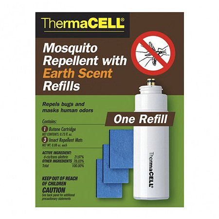 Thermacell Mosquito Repellent With Earth Scent Refills