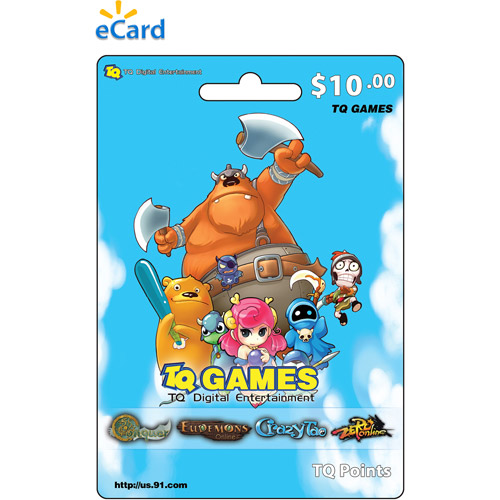 (Email Delivery)  Net Dragon TQ Game eCard$10