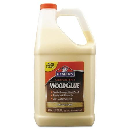 Elmer's Carpenter Wood Glue, Beige, Gallon Bottle (The Best Wood Glue)