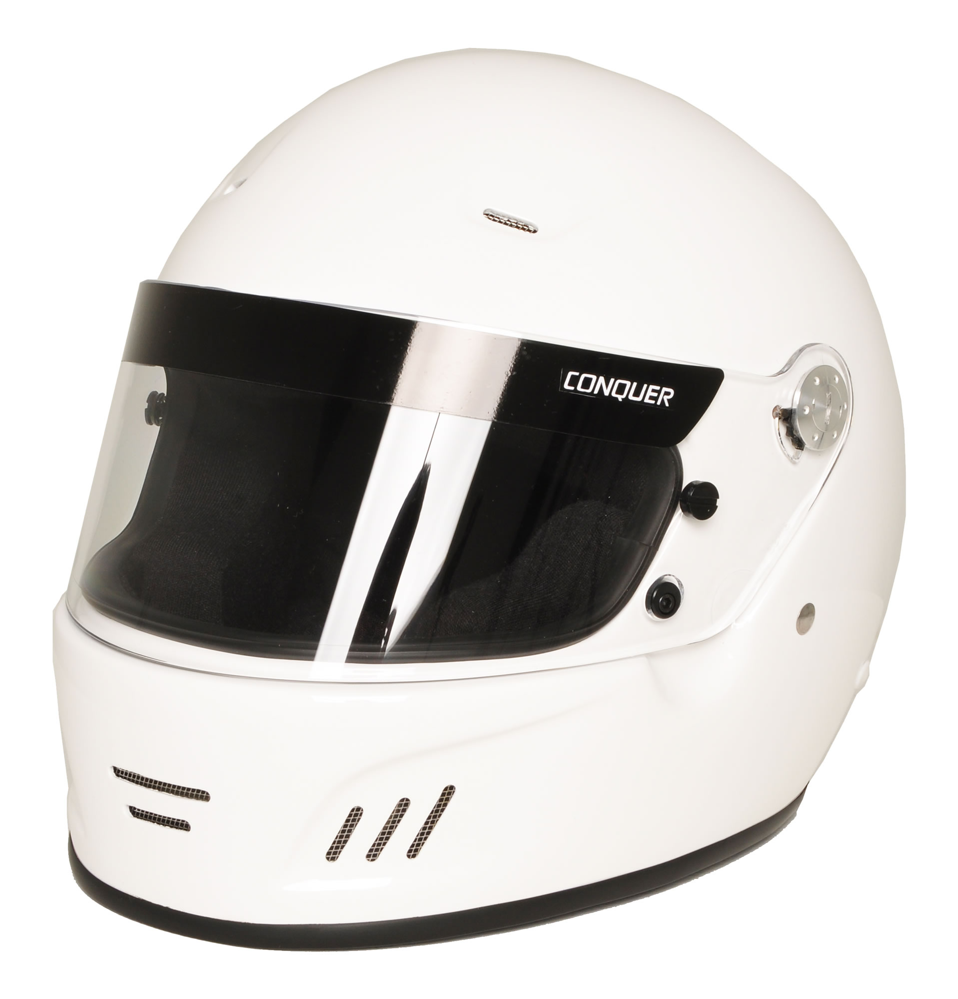 Auto Racing Helmets >> Conquer Snell Sa2015 Approved Full Face Auto Racing Helmet Walmart Com