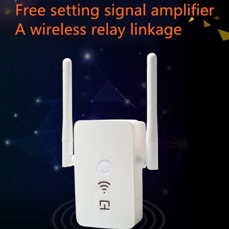Wireless-N WiFi Internet Range Extender Booster Router ...