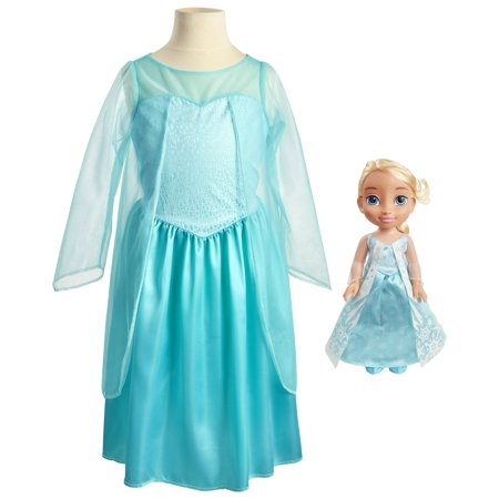 Disney Frozen Elsa Toddler Doll and Dress