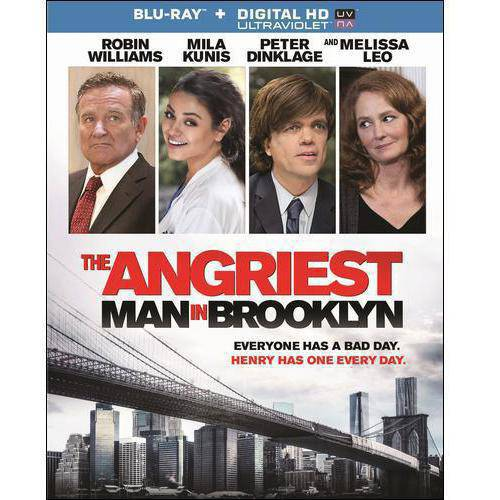 The Angriest Man In Brooklyn (Blu-ray + Digital HD)  (With INSTAWATCH) (Widescreen)
