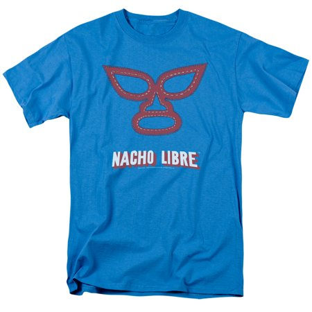 Nacho Libre Mexican Wrestling Family Comedy Movie Mask Adult T-Shirt Tee