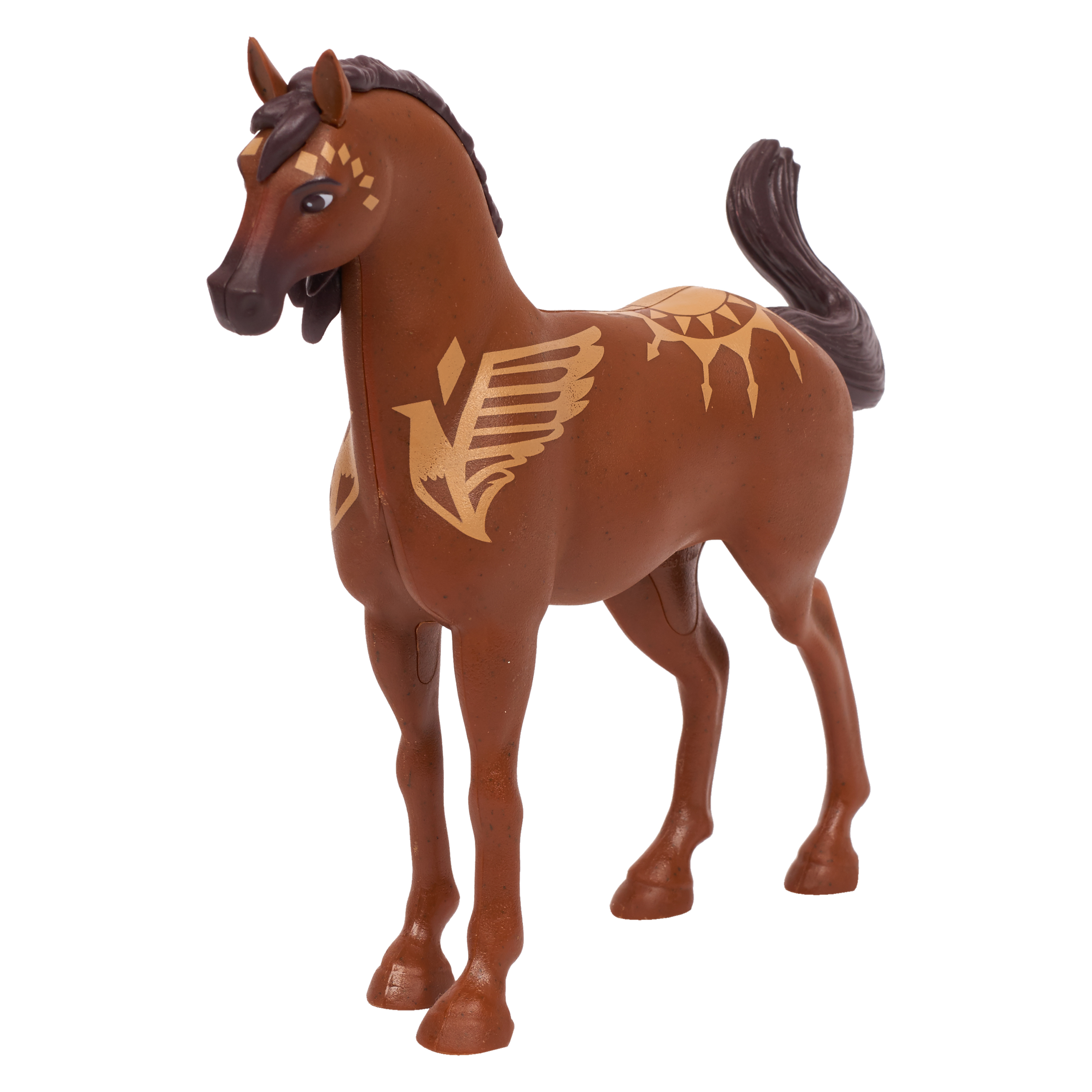 "Spirit Riding Free 7"" Collector Horse - Crow"