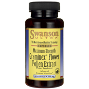Swanson Graminex Flower Pollen Extract - Maximum Strength 500 mg 60 Caps