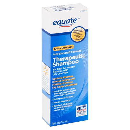 Gel Therapeutic Shampoo (Equate Anti-Dandruff Therapeutic Shampoo, Extra-Strength, 6 fl oz)
