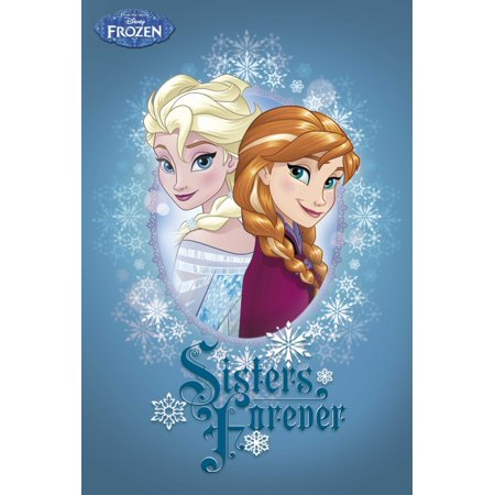 Frozen Sisters Forever Poster Poster Print](Frozen Poster)