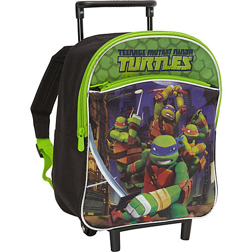 Nickelodeon Teenage Mutant Ninja Turtles Rolling Backpack ...