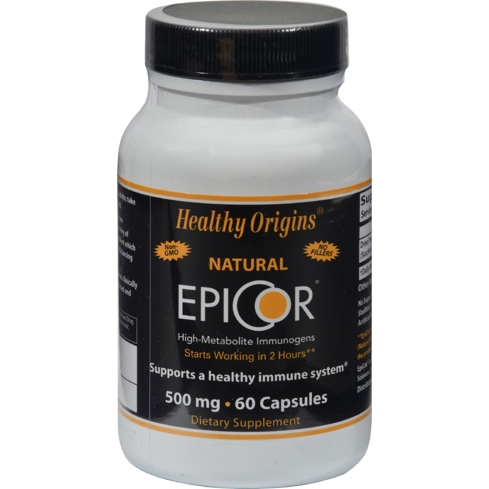 EpiCor 500 mg (Immune Support), 60 Veggie Capsules