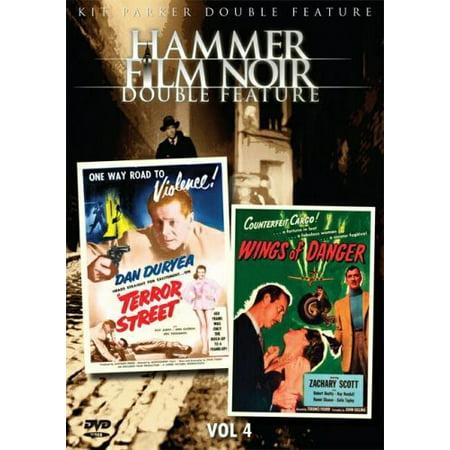 Hammer Film Noir Double Feature Vol. 4: Terror Street / Wings of Danger (DVD) - Halloween A Noite De Terror