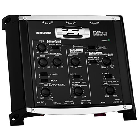 onic Crossover w/ Remote Subwoofer Control Sound Storm Labs (3 Way Electronic)