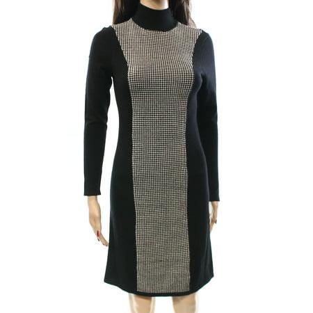 Lauren Ralph Lauren New Black Women Size Pxs Petite Sweater Dress