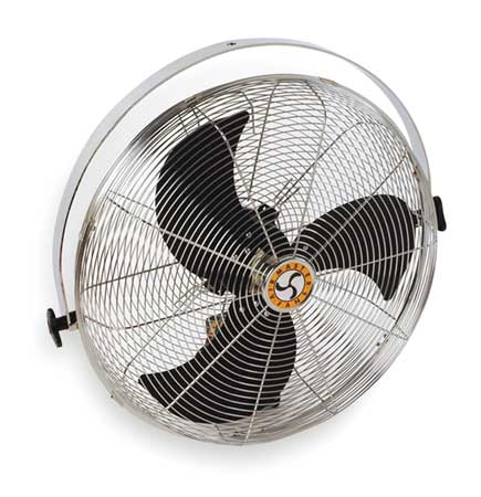 "AIRMASTER FAN Air Circulator,18"",2966 cfm,115V I-18YM"