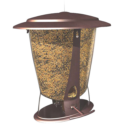 More Birds X-2 Squirrel Proof Birdfeeder with 4-Pound Bird Seed Capacity by Classic Brands LLC