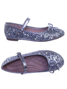 4387d5571626 Product Image Marina36K by Link, Children Girls Glitter Ballerina Ballet  Flat Round Toe Mary-Jane Strap