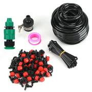 Mgaxyff 25m Plant Self Watering Garden Hose Kits DIY Micro Drip Irrigation System, Self Watering Irrigation System