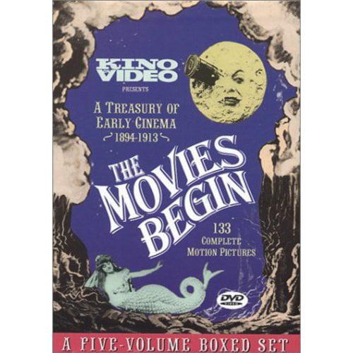 The Movies Begin: A Treasury Of Early Cinema 1894-1913